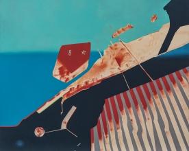 Pacific Queue - Alkyd on Canvas 5x4'