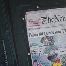 Quake - Acrylic on Canvas 3x3' 2014